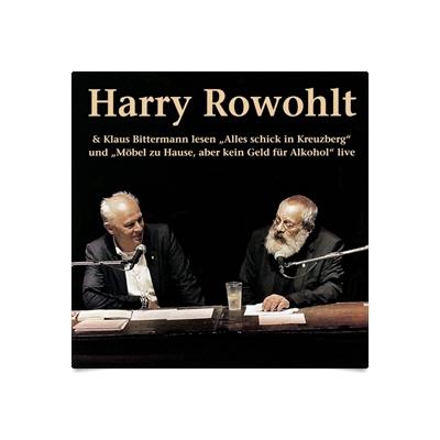 Harry Rowohlt U Klaus Bittermann Lesen Alles Schick In Kreuzberg Und Mbel  Zu Hause Aber Kein Geld Fr Alkohol Als Hrbuch Online Downloaden Audioteka  With ...