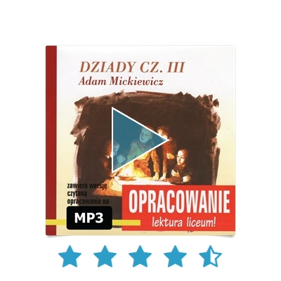 dziady cz 3 audiobook