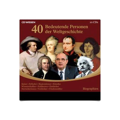 40 bedeutende Personen der Weltgeschichte Hörbuch Download ...